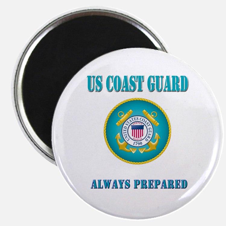 "US Coast Guard 2.25"" Magnet (10 pack)"