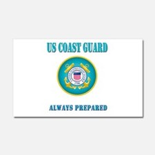 US Coast Guard Car Magnet 20 x 12
