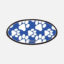 Dog Paws Royal Blue Patches