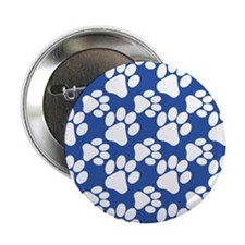 "Cute Dog Paws 2.25"" Button"