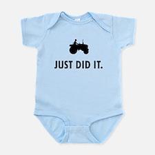 Farmer Infant Bodysuit