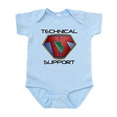 Super Tech Support - lt Body Suit
