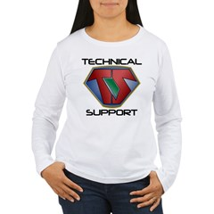Super Tech Support - lt Long Sleeve T-Shirt