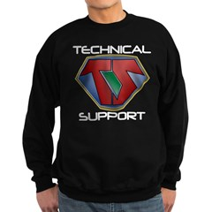 Super Tech Support - dk Sweatshirt