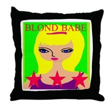 Funny Outer wear Throw Pillow