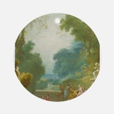 Jean-Honore Fragonard - A Game of Hot Cockles Orna
