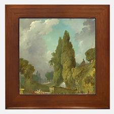 Jean-Honore Fragonard - Blindmans Buff Framed Tile