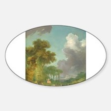 Jean-Honore Fragonard - The Swing Decal