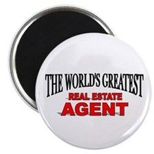 """The World's Greatest Real Estate Agent"" Magnet"