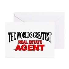 """""""The World's Greatest Real Estate Agent"""" Greeting"""