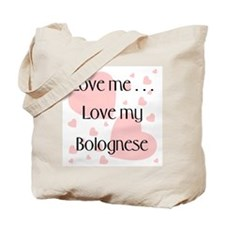 Love me...Love my Bolognese Tote Bag