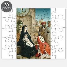 Juan de Flandes - The Adoration of the Magi Puzzle