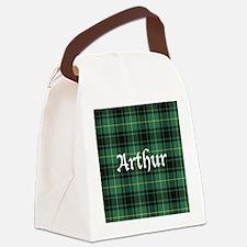 Tartan - Arthur Canvas Lunch Bag