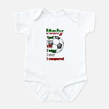 Italian Socccer Infant Bodysuit