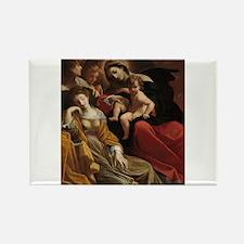 Lodovico Carracci - The Dream of Saint Catherine R