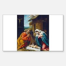 Lorenzo Lotto - The Nativity Decal