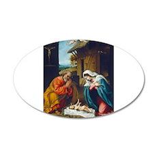 Lorenzo Lotto - The Nativity Wall Decal