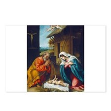Lorenzo Lotto - The Nativity Postcards (Package of
