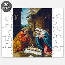 Lorenzo Lotto - The Nativity Puzzle
