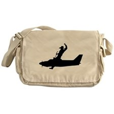 Air Traffic Round Up Messenger Bag