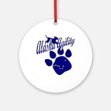 Alaska Agility Ornament (Round)