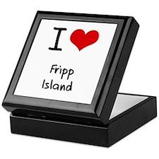I Love FRIPP ISLAND Keepsake Box