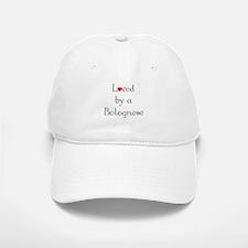Loved by a Bolognese Baseball Baseball Cap