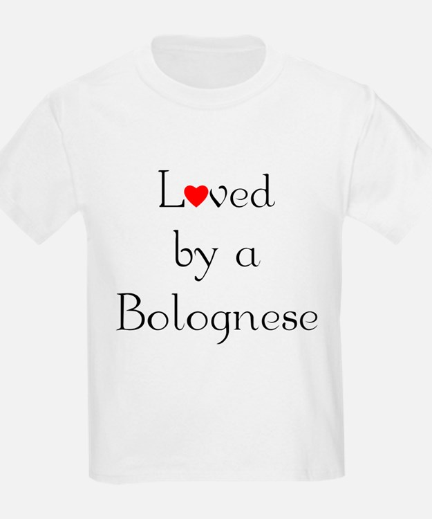 Loved by a Bolognese Kids T-Shirt