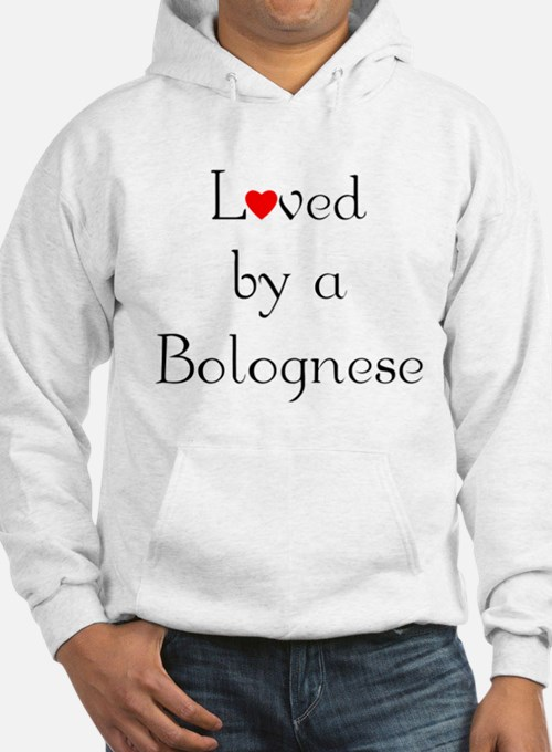 Loved by a Bolognese Hoodie