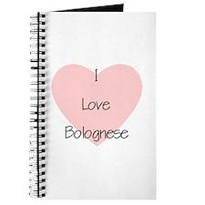 I Love Bolognese Journal