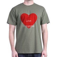 I Love Bolognese T-Shirt