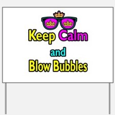 Crown Sunglasses Keep Calm And Blow Bubbles Yard S