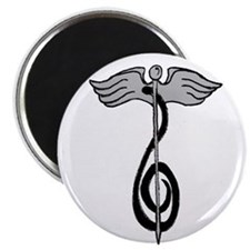 Music Therapy Logo Magnets