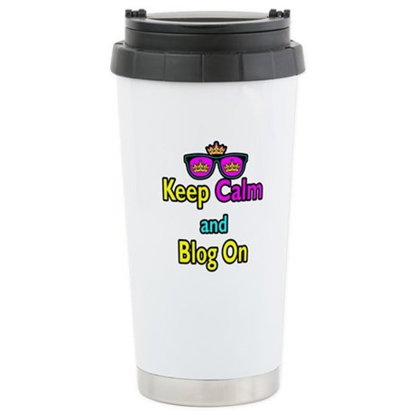 Crown Sunglasses Keep Calm And Blog On Stainless S
