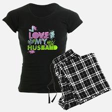 I LOVE MY HUSBAND Pajamas