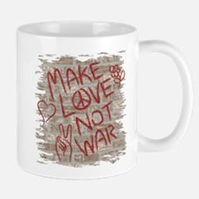 Make Love Not War Mug