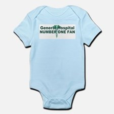 General Hospital number one fan large Body Suit