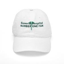 General Hospital number one fan large Baseball Baseball Cap