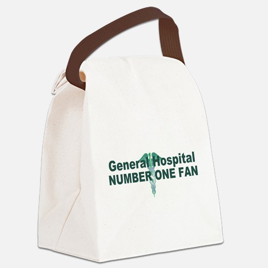 General Hospital number one fan large Canvas Lunch