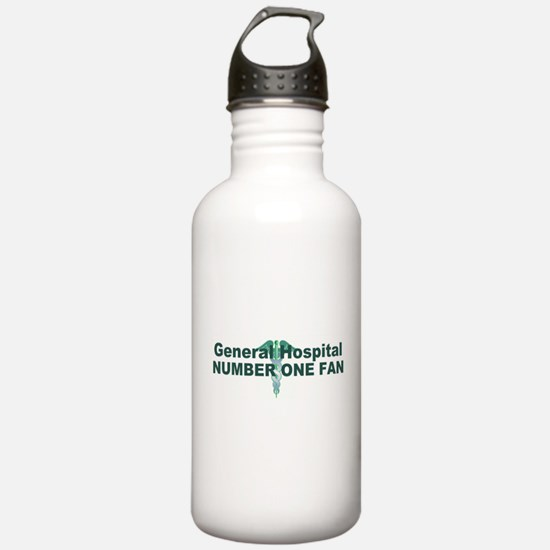 General Hospital number one fan large Water Bottle
