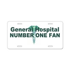 General Hospital number one fan large Aluminum Lic