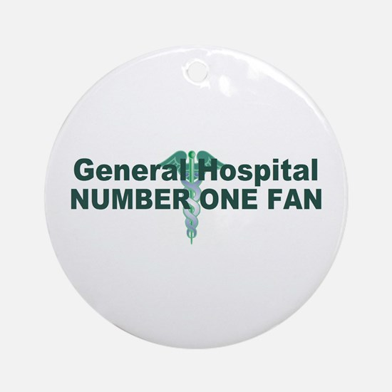 General Hospital number one fan large Ornament (Ro