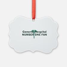 General Hospital number one fan large Ornament