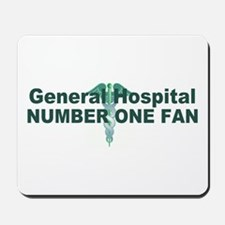 General Hospital number one fan large Mousepad