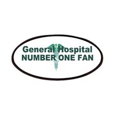 General Hospital number one fan large Patches