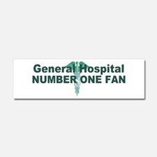 General Hospital number one fan large Car Magnet 1