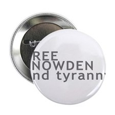"Free Snowden 2.25"" Button"