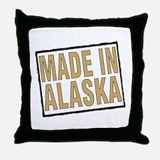Funny Vintage alaska Throw Pillow