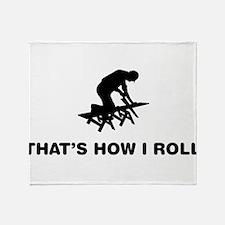 Carpenter Throw Blanket