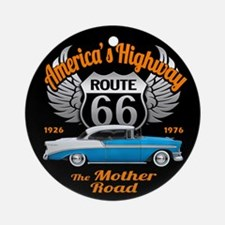 America's Highway 66 Ornament (Round)